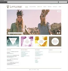 Lifter Baron // Littledoe Website Design