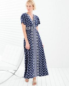 Banded Maxi Dress