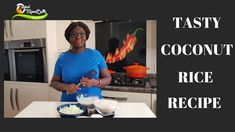 HOW TO MAKE THE BEST TASTING COCONUT RICE RECIPE - YouTube Other Recipes, Rice Recipes, Creamy Chicken Spinach Pasta, Coconut Rice, Sunflower Oil, Tasty, Good Things, Dishes, Make It Yourself