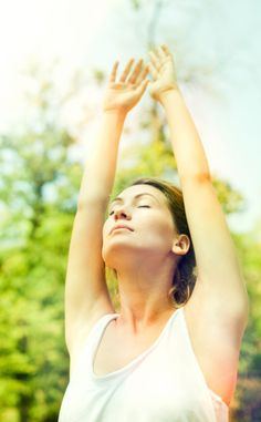If you feel imbalanced, try these #yoga poses that help balance your chakras and open your heart