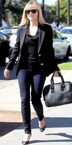 Reese Witherspoon. Love her, and her style.