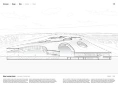 "Studying the ""Manual of Section"": Architecture's Most Intriguing Drawing,Rolex Learning Center by SANAA (2010). Published in Manual of Section by Paul Lewis, Marc Tsurumaki, and David J. Lewis published by Princeton Architectural Press (2016). Image © LTL Architects"