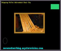 Shipping Pallet Adirondack Chair Diy 215459 - Woodworking Plans and Projects!