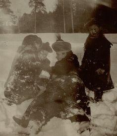 Olga, Tatiana, Alix and Anastasia