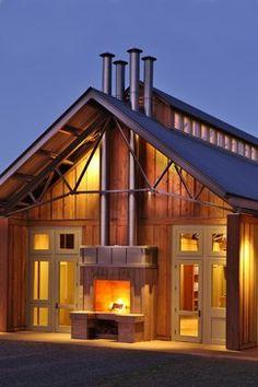 Barn House Metal Design