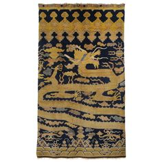 Ningxia Pillar Carpet | From a unique collection of antique and modern chinese and east asian rugs at https://www.1stdibs.com/furniture/rugs-carpets/chinese-rugs/