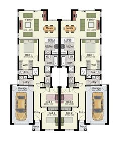 The Aon 265 Courtyard is a duplex design that makes everyday living a breeze.