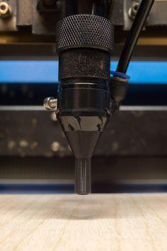 3D printed Laser Cutter Nozzle Attachment For a Longer Focal Length Lens