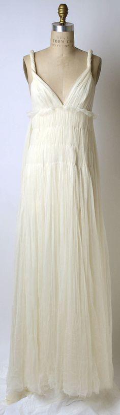 Vera Wang (American, born 1949). Wedding dress, 2002. American. The Metropolitan Museum of Art, New York. Gift of Vera Wang, 2003 (2003.67)