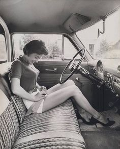 Bench car seat... love those days. They can bring those back anytime if you ask me.