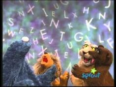 ▷ Sesame Street I Get a Kick Out of U Rainbow letters