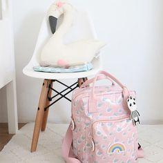 Eef Lillemor rugzak zwaan roze #backpack #swan #pink #pastel #bts #backtoschool #littlethingz2
