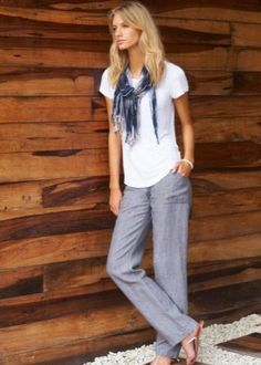 Linen Pants Outfit, Chic, Outfits, Style, Fashion, Shabby Chic, Swag, Moda, Suits