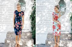 Gorgeous floral summer dress! Perfect fit and comfortable! Plus get FREE shipping on it! Only $26.99!