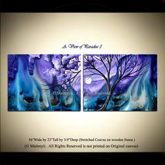 FINE ART Original Abstract Painting Sunrise by orignalmodernart, $299.00
