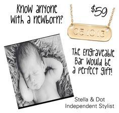 """Newborn gift"" by sarah-labancz on Polyvore featuring Stella & Dot"