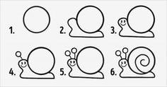 10 desenhos fáceis com círculos para fazer com as crianças! - Just Real Moms - Blog para Mães