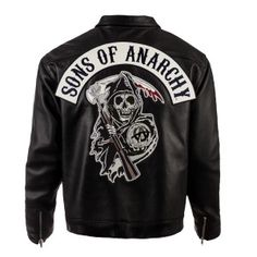 Sons of Anarchy Speedster Leather Jacket