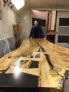 Live Edge Table, Live Edge Dining Table, Live Edge, Live Edge Boardroom  Table