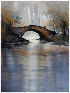 watercolor by Thomas W. Schaller