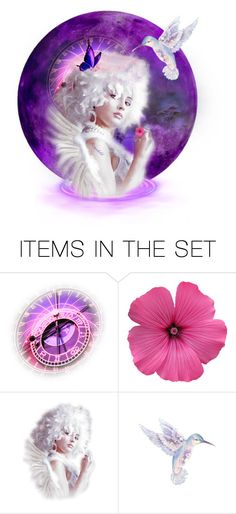"""Send me an Angel!"" by ragnh-mjos ❤ liked on Polyvore featuring art, angel and artset"