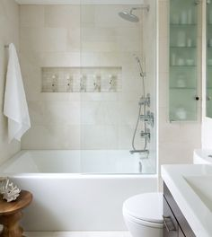 storage space on the side of shower. Would make it larger of course!