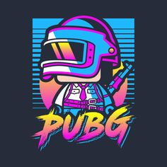 Check out this awesome 'PUBG+Retro' design on @TeePublic!