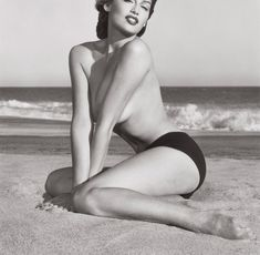 """Laetitia Casta 2"", Herb Ritts, Malibu 1998. Herb Ritts, Laetitia Casta, Model Pictures, Scarlett Johansson, Photoshoot Ideas, Supermodels, Anatomy, Bikinis, Top Models"