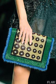 A little fuzz never hurt a Fendi bag.