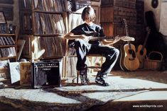 Steve Hanks It's His Time Now  I hope he enjoyed his time as much as we loved his watercolors etc.  He died 2015 may he R.I.P.  This may well be his son playing the guitar.