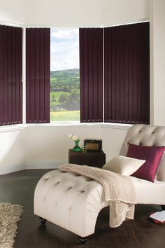 Blinds For Living Room Contemporary Ideas 132 Best The Images Vertical By Louvolite Satin Aubergine