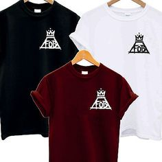 FOB POCKET LOGO T SHIRT FALL OUT BOY CROWN MUSIC AND ALBUM TOUR ROCK INDIE BAND in Clothes, Shoes & Accessories, Men's Clothing, T-Shirts | eBay!