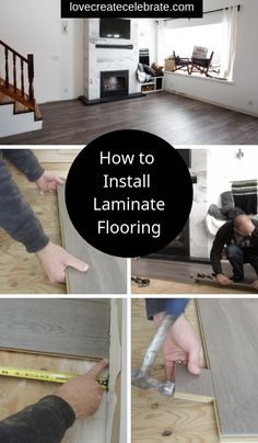 Learn how to install laminate flooring in an afternoon! Everything you need to know to lay this DIY flooring in your living room, kitchen, dining room, etc. Includes a video tutorial, design tips, and helpful tools. Love the look of this silverwood golden select laminate flooring from Costco! #laminate #flooring #DIY