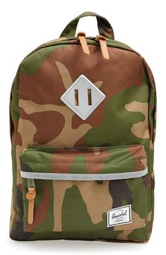Herschel Supply Co. 'Heritage - Camo' Backpack (Kids) available at #Nordstrom