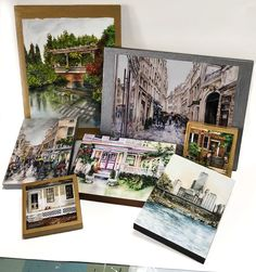 Holiday SALE! Receive 20% off your order, no minimum purchase required. Browse my Etsy shop for watercolor street scenes, houses, parks and more. Paintings of Paris, Venice, and Chicago can remind your loved ones and friends of a special vacation or memory. #holidaysale #paulanathanart #gifts #watercolorprints