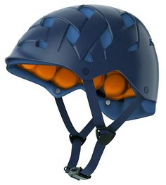 Most helmets are made of multiple layers of material bonded together but Rockwell bike, ski and skateboard helmets are 'modular'