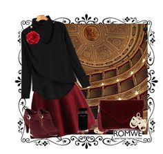 """Shein. We go to the theatre tonight."" by natalyapril1976 on Polyvore featuring Noto, Chicwish, G by Guess, Cara, BP., Rembrandt Charms, Narciso Rodriguez, outfit, look and shein"