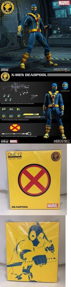 Comic Book Heroes 158671: Mezco One:12 Collective Sdcc Exclusive X-Men Deadpool 1 12 Scale Action Figure -> BUY IT NOW ONLY: $149.99 on eBay!