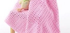 [Free Pattern] Fabulously Simple One Skein Baby Blanket