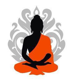 Buddha silouette