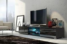 TV stolek Neo Komfort EDITH barva černá