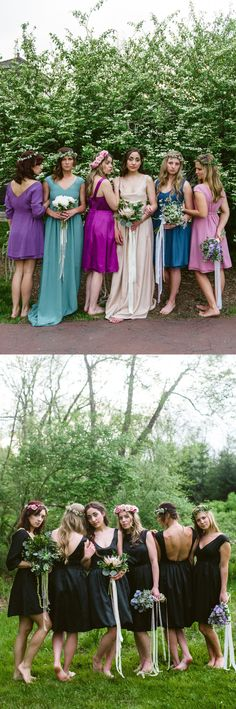 OMG to LBD! Bridesmaid dresses that you can wear again. http://www.durga-kali.com #durgakali