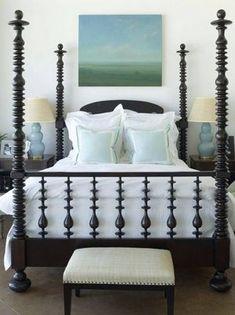 antique spool/jenny lind bed