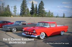 """The Ranchero and El Camino were very cool trucks but they're not a favorite in the hobby. Take an MSCC look at """"why"""" in this article- http://www.mystarcollectorcar.com/2-features/editorials/2099-why-do-old-car-trucks-have-less-appeal-than-old-cars-and-trucks.html"""
