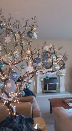 Mesmerizing Blue Christmas Tree Decorations But if you truly want to stand out, we'd suggest you go for a blue Christmas tree this year. we've gathered a list of blue Christmas tree decoration ideas. Coastal Christmas, Noel Christmas, All Things Christmas, White Christmas, Teal Christmas Tree, Holiday Tree, Unusual Christmas Trees, Turquoise Christmas, Christmas Island