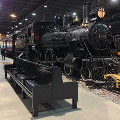 Exporail / le Musée ferroviaire canadien / The Canadian Railway Museum / QC / Canada #exporail #trains #musée #museum
