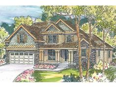 Two-Story House Design, 051H-0119