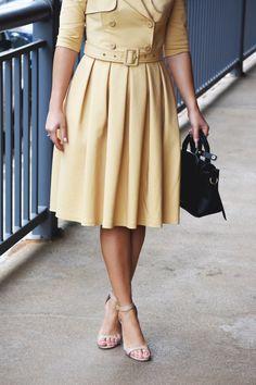 CHICWISH TRENCH DRESS | CHIC TALK #trenchdress #dress #chicwish #classic