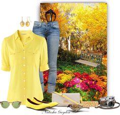 """A Walk in Central Park- Springtime"" by natasha-gayden on Polyvore"