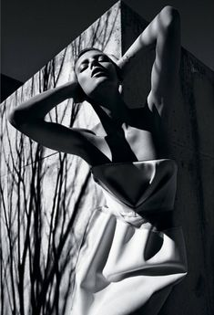 Anja Rubik by Mario Sorrenti
